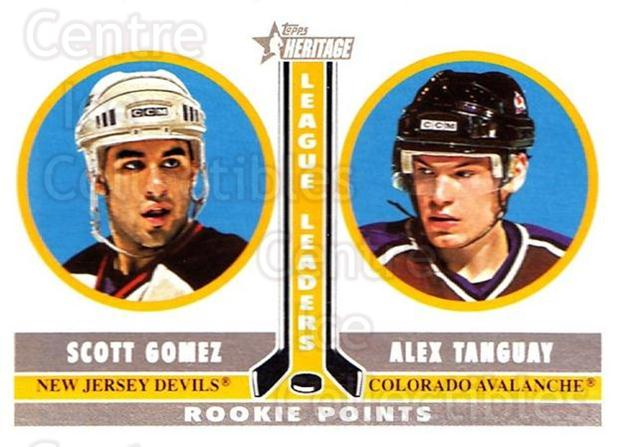 2000-01 Topps Heritage #229 Scott Gomez, Alex Tanguay<br/>7 In Stock - $1.00 each - <a href=https://centericecollectibles.foxycart.com/cart?name=2000-01%20Topps%20Heritage%20%23229%20Scott%20Gomez,%20Al...&quantity_max=7&price=$1.00&code=89367 class=foxycart> Buy it now! </a>