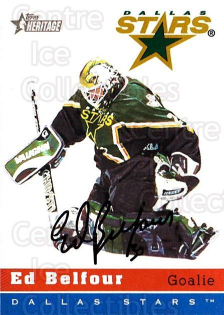 2000-01 Topps Heritage #23 Ed Belfour<br/>4 In Stock - $1.00 each - <a href=https://centericecollectibles.foxycart.com/cart?name=2000-01%20Topps%20Heritage%20%2323%20Ed%20Belfour...&price=$1.00&code=89368 class=foxycart> Buy it now! </a>