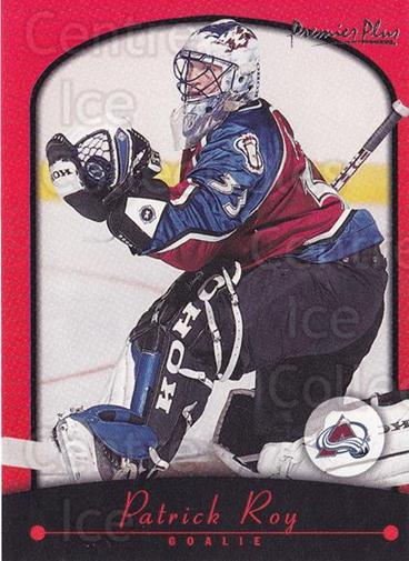 2000-01 Topps Premier Plus #8 Patrick Roy<br/>5 In Stock - $2.00 each - <a href=https://centericecollectibles.foxycart.com/cart?name=2000-01%20Topps%20Premier%20Plus%20%238%20Patrick%20Roy...&price=$2.00&code=89550 class=foxycart> Buy it now! </a>