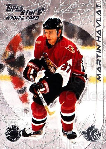 2000-01 Topps Stars #101 Martin Havlat<br/>1 In Stock - $2.00 each - <a href=https://centericecollectibles.foxycart.com/cart?name=2000-01%20Topps%20Stars%20%23101%20Martin%20Havlat...&quantity_max=1&price=$2.00&code=89630 class=foxycart> Buy it now! </a>