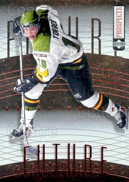 2000-01 UD CHL Prospects Future Leaders #2 Raffi Torres<br/>2 In Stock - $2.00 each - <a href=https://centericecollectibles.foxycart.com/cart?name=2000-01%20UD%20CHL%20Prospects%20Future%20Leaders%20%232%20Raffi%20Torres...&price=$2.00&code=89727 class=foxycart> Buy it now! </a>