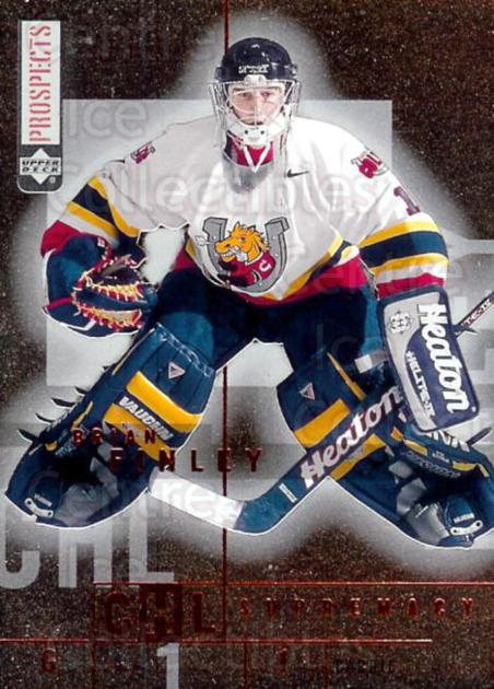 2000-01 UD CHL Prospects Supremacy #2 Brian Finley<br/>4 In Stock - $2.00 each - <a href=https://centericecollectibles.foxycart.com/cart?name=2000-01%20UD%20CHL%20Prospects%20Supremacy%20%232%20Brian%20Finley...&price=$2.00&code=89736 class=foxycart> Buy it now! </a>