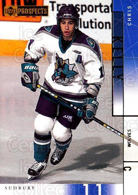2000-01 UD CHL Prospects #35 Chris Kelly<br/>11 In Stock - $1.00 each - <a href=https://centericecollectibles.foxycart.com/cart?name=2000-01%20UD%20CHL%20Prospects%20%2335%20Chris%20Kelly...&quantity_max=11&price=$1.00&code=89770 class=foxycart> Buy it now! </a>