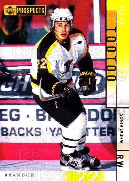 2000-01 UD CHL Prospects #45 Jordin Tootoo<br/>9 In Stock - $1.00 each - <a href=https://centericecollectibles.foxycart.com/cart?name=2000-01%20UD%20CHL%20Prospects%20%2345%20Jordin%20Tootoo...&quantity_max=9&price=$1.00&code=89779 class=foxycart> Buy it now! </a>