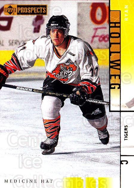 2000-01 UD CHL Prospects #55 Ryan Hollweg<br/>12 In Stock - $1.00 each - <a href=https://centericecollectibles.foxycart.com/cart?name=2000-01%20UD%20CHL%20Prospects%20%2355%20Ryan%20Hollweg...&quantity_max=12&price=$1.00&code=89790 class=foxycart> Buy it now! </a>
