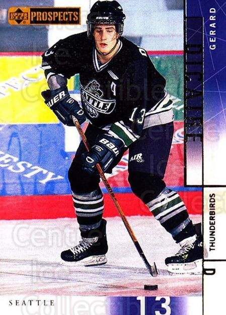 2000-01 UD CHL Prospects #65 Gerard Dicaire<br/>12 In Stock - $1.00 each - <a href=https://centericecollectibles.foxycart.com/cart?name=2000-01%20UD%20CHL%20Prospects%20%2365%20Gerard%20Dicaire...&price=$1.00&code=89800 class=foxycart> Buy it now! </a>