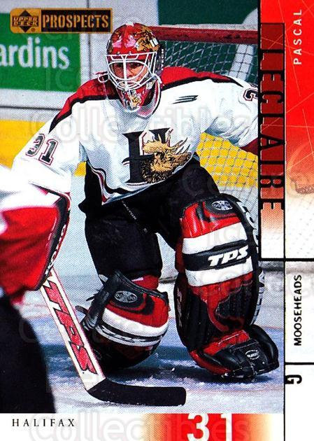 2000-01 UD CHL Prospects #79 Pascal Leclaire<br/>3 In Stock - $1.00 each - <a href=https://centericecollectibles.foxycart.com/cart?name=2000-01%20UD%20CHL%20Prospects%20%2379%20Pascal%20Leclaire...&quantity_max=3&price=$1.00&code=89814 class=foxycart> Buy it now! </a>