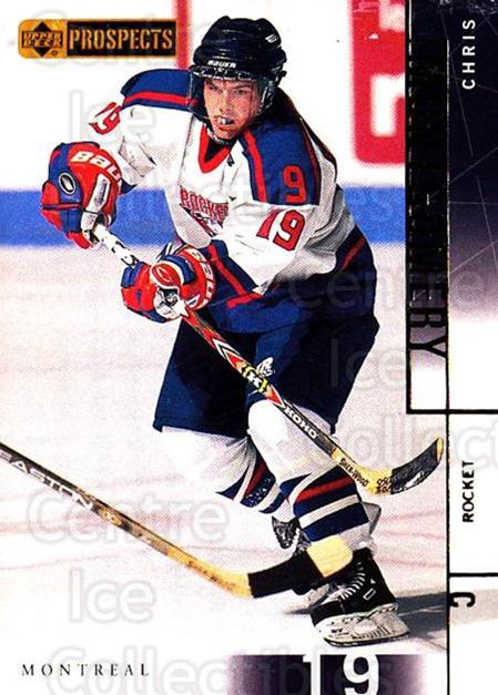 2000-01 UD CHL Prospects #80 Chris Montgomery<br/>15 In Stock - $1.00 each - <a href=https://centericecollectibles.foxycart.com/cart?name=2000-01%20UD%20CHL%20Prospects%20%2380%20Chris%20Montgomer...&quantity_max=15&price=$1.00&code=89816 class=foxycart> Buy it now! </a>