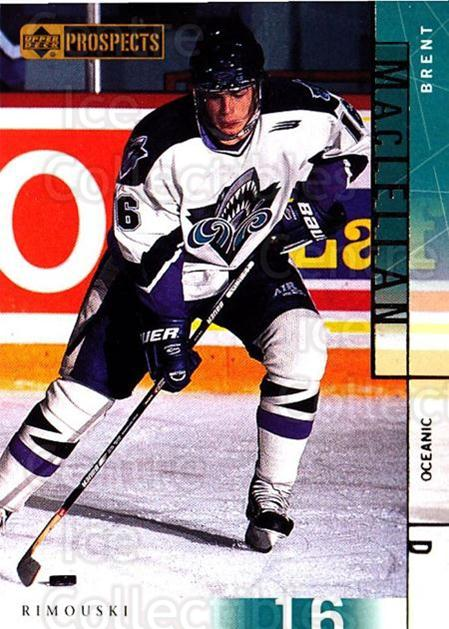 2000-01 UD CHL Prospects #81 Brent Maclellan<br/>21 In Stock - $1.00 each - <a href=https://centericecollectibles.foxycart.com/cart?name=2000-01%20UD%20CHL%20Prospects%20%2381%20Brent%20Maclellan...&quantity_max=21&price=$1.00&code=89817 class=foxycart> Buy it now! </a>