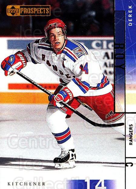 2000-01 UD CHL Prospects #9 Derek Roy<br/>4 In Stock - $1.00 each - <a href=https://centericecollectibles.foxycart.com/cart?name=2000-01%20UD%20CHL%20Prospects%20%239%20Derek%20Roy...&quantity_max=4&price=$1.00&code=89826 class=foxycart> Buy it now! </a>