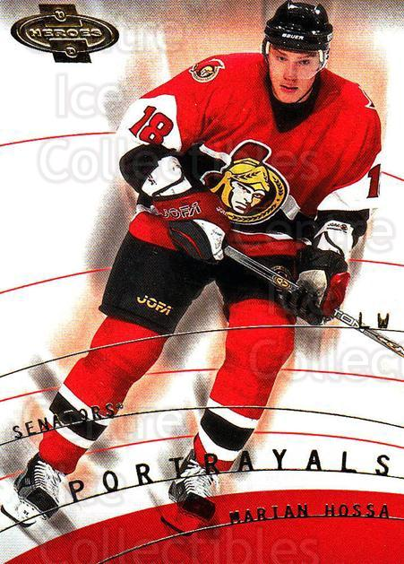 2000-01 UD Heroes #152 Marian Hossa<br/>7 In Stock - $1.00 each - <a href=https://centericecollectibles.foxycart.com/cart?name=2000-01%20UD%20Heroes%20%23152%20Marian%20Hossa...&quantity_max=7&price=$1.00&code=89906 class=foxycart> Buy it now! </a>