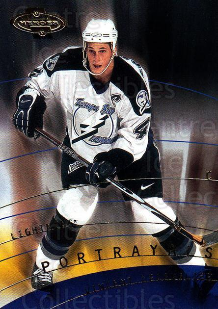 2000-01 UD Heroes #157 Vincent Lecavalier<br/>11 In Stock - $1.00 each - <a href=https://centericecollectibles.foxycart.com/cart?name=2000-01%20UD%20Heroes%20%23157%20Vincent%20Lecaval...&quantity_max=11&price=$1.00&code=89911 class=foxycart> Buy it now! </a>