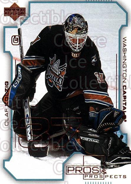 2000-01 UD Pros and Prospects #88 Olaf Kolzig<br/>11 In Stock - $1.00 each - <a href=https://centericecollectibles.foxycart.com/cart?name=2000-01%20UD%20Pros%20and%20Prospects%20%2388%20Olaf%20Kolzig...&quantity_max=11&price=$1.00&code=90102 class=foxycart> Buy it now! </a>