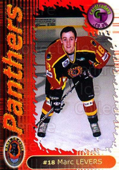 2000-01 UK British Elite Nottingham Panthers #11 Marc Levers<br/>11 In Stock - $2.00 each - <a href=https://centericecollectibles.foxycart.com/cart?name=2000-01%20UK%20British%20Elite%20Nottingham%20Panthers%20%2311%20Marc%20Levers...&price=$2.00&code=90230 class=foxycart> Buy it now! </a>