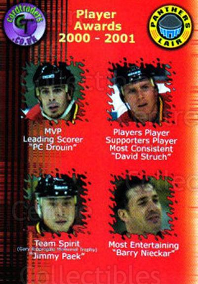 2000-01 UK British Elite Nottingham Panthers #31 PC Drouin, David Struch, Jim Paek, Barry Nieckar<br/>10 In Stock - $2.00 each - <a href=https://centericecollectibles.foxycart.com/cart?name=2000-01%20UK%20British%20Elite%20Nottingham%20Panthers%20%2331%20PC%20Drouin,%20Davi...&price=$2.00&code=90251 class=foxycart> Buy it now! </a>