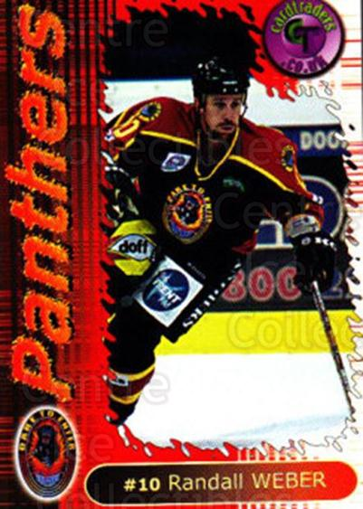 2000-01 UK British Elite Nottingham Panthers #7 Randall Weber<br/>12 In Stock - $2.00 each - <a href=https://centericecollectibles.foxycart.com/cart?name=2000-01%20UK%20British%20Elite%20Nottingham%20Panthers%20%237%20Randall%20Weber...&price=$2.00&code=90255 class=foxycart> Buy it now! </a>