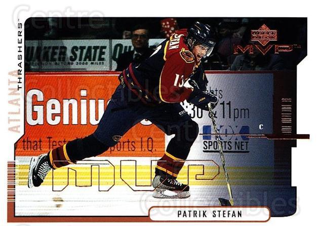 2000-01 Upper Deck MVP #12 Patrik Stefan<br/>5 In Stock - $1.00 each - <a href=https://centericecollectibles.foxycart.com/cart?name=2000-01%20Upper%20Deck%20MVP%20%2312%20Patrik%20Stefan...&quantity_max=5&price=$1.00&code=90904 class=foxycart> Buy it now! </a>