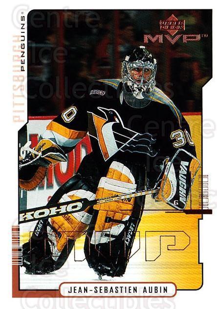 2000-01 Upper Deck MVP #144 Jean-Sebastien Aubin<br/>4 In Stock - $1.00 each - <a href=https://centericecollectibles.foxycart.com/cart?name=2000-01%20Upper%20Deck%20MVP%20%23144%20Jean-Sebastien%20...&quantity_max=4&price=$1.00&code=90930 class=foxycart> Buy it now! </a>