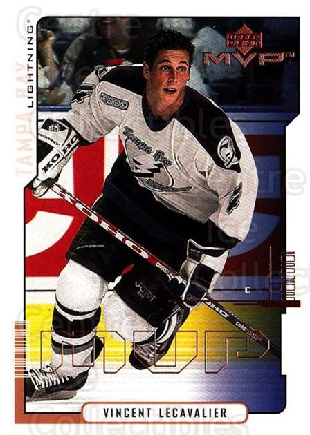2000-01 Upper Deck MVP #163 Vincent Lecavalier<br/>6 In Stock - $1.00 each - <a href=https://centericecollectibles.foxycart.com/cart?name=2000-01%20Upper%20Deck%20MVP%20%23163%20Vincent%20Lecaval...&quantity_max=6&price=$1.00&code=90951 class=foxycart> Buy it now! </a>