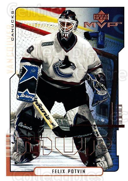 2000-01 Upper Deck MVP #174 Felix Potvin<br/>1 In Stock - $1.00 each - <a href=https://centericecollectibles.foxycart.com/cart?name=2000-01%20Upper%20Deck%20MVP%20%23174%20Felix%20Potvin...&quantity_max=1&price=$1.00&code=90962 class=foxycart> Buy it now! </a>