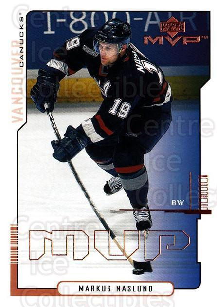 2000-01 Upper Deck MVP #177 Markus Naslund<br/>5 In Stock - $1.00 each - <a href=https://centericecollectibles.foxycart.com/cart?name=2000-01%20Upper%20Deck%20MVP%20%23177%20Markus%20Naslund...&quantity_max=5&price=$1.00&code=90965 class=foxycart> Buy it now! </a>