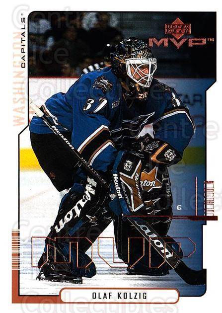 2000-01 Upper Deck MVP #181 Olaf Kolzig<br/>6 In Stock - $1.00 each - <a href=https://centericecollectibles.foxycart.com/cart?name=2000-01%20Upper%20Deck%20MVP%20%23181%20Olaf%20Kolzig...&quantity_max=6&price=$1.00&code=90970 class=foxycart> Buy it now! </a>