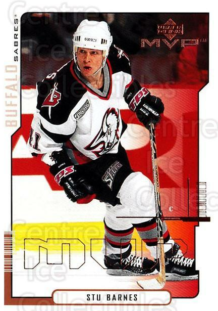 2000-01 Upper Deck MVP #22 Stu Barnes<br/>6 In Stock - $1.00 each - <a href=https://centericecollectibles.foxycart.com/cart?name=2000-01%20Upper%20Deck%20MVP%20%2322%20Stu%20Barnes...&quantity_max=6&price=$1.00&code=91010 class=foxycart> Buy it now! </a>