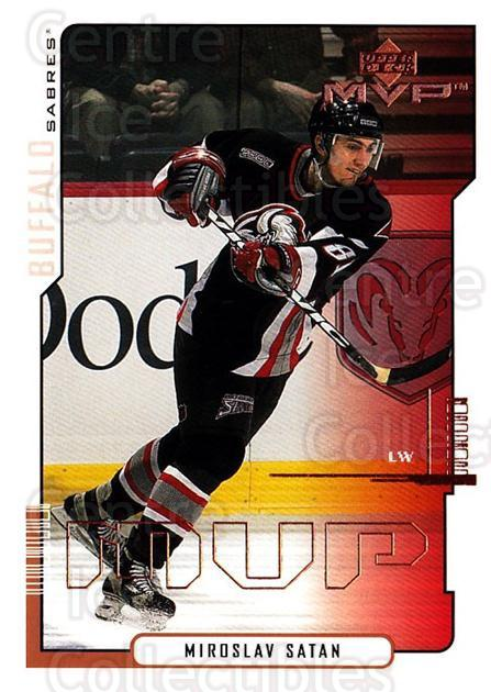 2000-01 Upper Deck MVP #27 Miroslav Satan<br/>6 In Stock - $1.00 each - <a href=https://centericecollectibles.foxycart.com/cart?name=2000-01%20Upper%20Deck%20MVP%20%2327%20Miroslav%20Satan...&quantity_max=6&price=$1.00&code=91015 class=foxycart> Buy it now! </a>