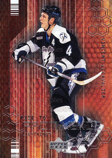 2000-01 Upper Deck Rise to Prominence #8 Vincent Lecavalier<br/>8 In Stock - $2.00 each - <a href=https://centericecollectibles.foxycart.com/cart?name=2000-01%20Upper%20Deck%20Rise%20to%20Prominence%20%238%20Vincent%20Lecaval...&quantity_max=8&price=$2.00&code=91055 class=foxycart> Buy it now! </a>