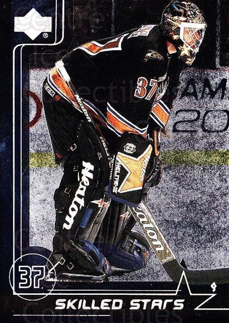 2000-01 Upper Deck Skilled Stars #20 Olaf Kolzig<br/>13 In Stock - $2.00 each - <a href=https://centericecollectibles.foxycart.com/cart?name=2000-01%20Upper%20Deck%20Skilled%20Stars%20%2320%20Olaf%20Kolzig...&quantity_max=13&price=$2.00&code=91064 class=foxycart> Buy it now! </a>