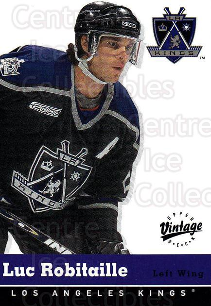 2000-01 UD Vintage #163 Luc Robitaille<br/>10 In Stock - $1.00 each - <a href=https://centericecollectibles.foxycart.com/cart?name=2000-01%20UD%20Vintage%20%23163%20Luc%20Robitaille...&quantity_max=10&price=$1.00&code=91315 class=foxycart> Buy it now! </a>