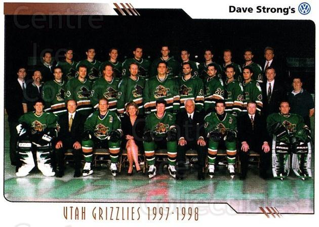 2000-01 Utah Grizzlies #21 Utah Grizzlies, Team Photo<br/>2 In Stock - $3.00 each - <a href=https://centericecollectibles.foxycart.com/cart?name=2000-01%20Utah%20Grizzlies%20%2321%20Utah%20Grizzlies,...&quantity_max=2&price=$3.00&code=91408 class=foxycart> Buy it now! </a>