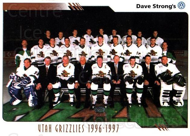 2000-01 Utah Grizzlies #28 Utah Grizzlies, Team Photo<br/>1 In Stock - $3.00 each - <a href=https://centericecollectibles.foxycart.com/cart?name=2000-01%20Utah%20Grizzlies%20%2328%20Utah%20Grizzlies,...&quantity_max=1&price=$3.00&code=91414 class=foxycart> Buy it now! </a>