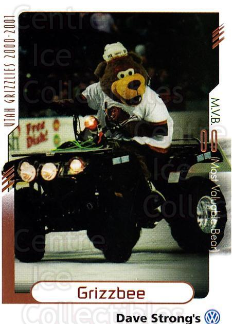 2000-01 Utah Grizzlies #34 Mascot<br/>2 In Stock - $3.00 each - <a href=https://centericecollectibles.foxycart.com/cart?name=2000-01%20Utah%20Grizzlies%20%2334%20Mascot...&quantity_max=2&price=$3.00&code=91418 class=foxycart> Buy it now! </a>