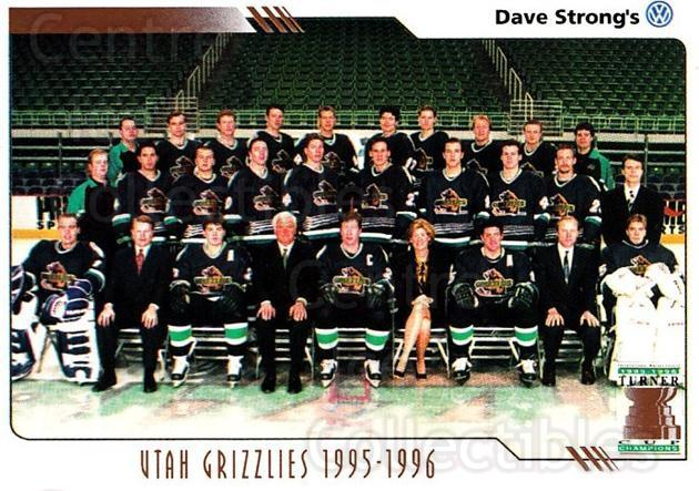 2000-01 Utah Grizzlies #35 Utah Grizzlies, Team Photo<br/>2 In Stock - $3.00 each - <a href=https://centericecollectibles.foxycart.com/cart?name=2000-01%20Utah%20Grizzlies%20%2335%20Utah%20Grizzlies,...&quantity_max=2&price=$3.00&code=91419 class=foxycart> Buy it now! </a>