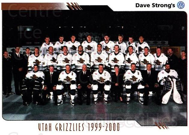2000-01 Utah Grizzlies #7 Utah Grizzlies, Team Photo<br/>1 In Stock - $3.00 each - <a href=https://centericecollectibles.foxycart.com/cart?name=2000-01%20Utah%20Grizzlies%20%237%20Utah%20Grizzlies,...&quantity_max=1&price=$3.00&code=91423 class=foxycart> Buy it now! </a>