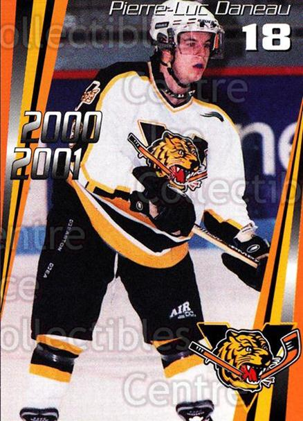 2000-01 Victoriaville Tigres #7 Pierre-Luc Daneau<br/>5 In Stock - $3.00 each - <a href=https://centericecollectibles.foxycart.com/cart?name=2000-01%20Victoriaville%20Tigres%20%237%20Pierre-Luc%20Dane...&quantity_max=5&price=$3.00&code=91690 class=foxycart> Buy it now! </a>