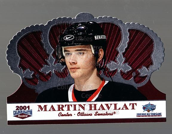 2001 Crown Royale Calder AS Silver #4 Martin Havlat<br/>37 In Stock - $5.00 each - <a href=https://centericecollectibles.foxycart.com/cart?name=2001%20Crown%20Royale%20Calder%20AS%20Silver%20%234%20Martin%20Havlat...&quantity_max=37&price=$5.00&code=91696 class=foxycart> Buy it now! </a>