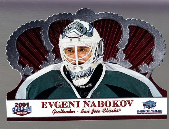 2001 Crown Royale Calder AS Silver #5 Evgeni Nabokov<br/>6 In Stock - $3.00 each - <a href=https://centericecollectibles.foxycart.com/cart?name=2001%20Crown%20Royale%20Calder%20AS%20Silver%20%235%20Evgeni%20Nabokov...&quantity_max=6&price=$3.00&code=91697 class=foxycart> Buy it now! </a>
