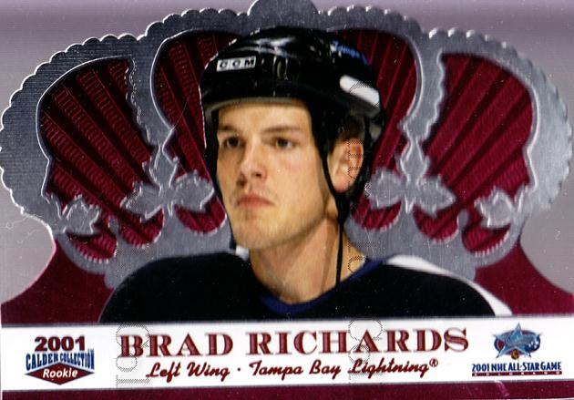 2001 Crown Royale Calder AS Silver #6 Brad Richards<br/>39 In Stock - $3.00 each - <a href=https://centericecollectibles.foxycart.com/cart?name=2001%20Crown%20Royale%20Calder%20AS%20Silver%20%236%20Brad%20Richards...&quantity_max=39&price=$3.00&code=91698 class=foxycart> Buy it now! </a>