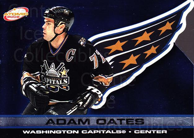 2001-02 Atomic #100 Adam Oates<br/>12 In Stock - $1.00 each - <a href=https://centericecollectibles.foxycart.com/cart?name=2001-02%20Atomic%20%23100%20Adam%20Oates...&quantity_max=12&price=$1.00&code=91784 class=foxycart> Buy it now! </a>
