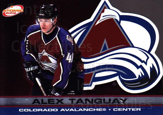 2001-02 Atomic #28 Alex Tanguay<br/>10 In Stock - $1.00 each - <a href=https://centericecollectibles.foxycart.com/cart?name=2001-02%20Atomic%20%2328%20Alex%20Tanguay...&quantity_max=10&price=$1.00&code=91801 class=foxycart> Buy it now! </a>