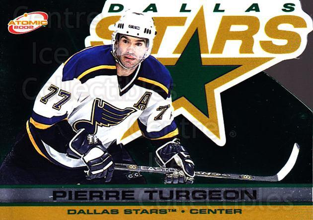 2001-02 Atomic #34 Pierre Turgeon<br/>9 In Stock - $1.00 each - <a href=https://centericecollectibles.foxycart.com/cart?name=2001-02%20Atomic%20%2334%20Pierre%20Turgeon...&quantity_max=9&price=$1.00&code=91808 class=foxycart> Buy it now! </a>