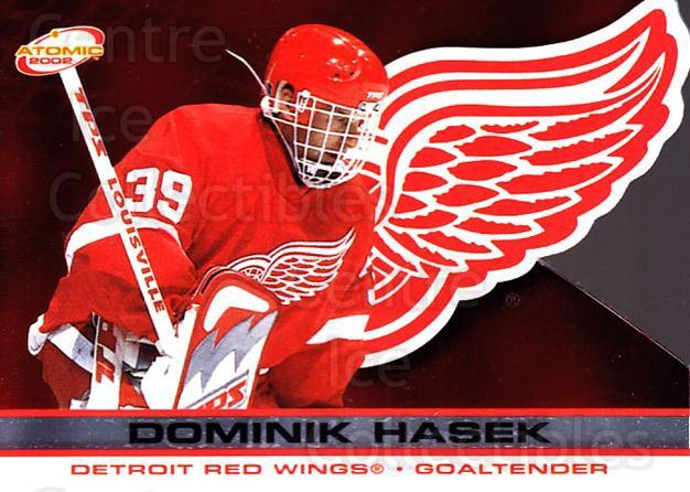 2001-02 Atomic #36 Dominik Hasek<br/>6 In Stock - $2.00 each - <a href=https://centericecollectibles.foxycart.com/cart?name=2001-02%20Atomic%20%2336%20Dominik%20Hasek...&quantity_max=6&price=$2.00&code=91809 class=foxycart> Buy it now! </a>