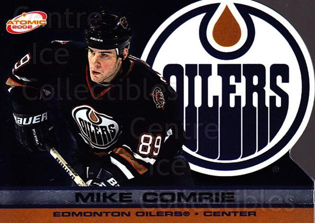 2001-02 Atomic #41 Mike Comrie<br/>9 In Stock - $1.00 each - <a href=https://centericecollectibles.foxycart.com/cart?name=2001-02%20Atomic%20%2341%20Mike%20Comrie...&quantity_max=9&price=$1.00&code=91813 class=foxycart> Buy it now! </a>
