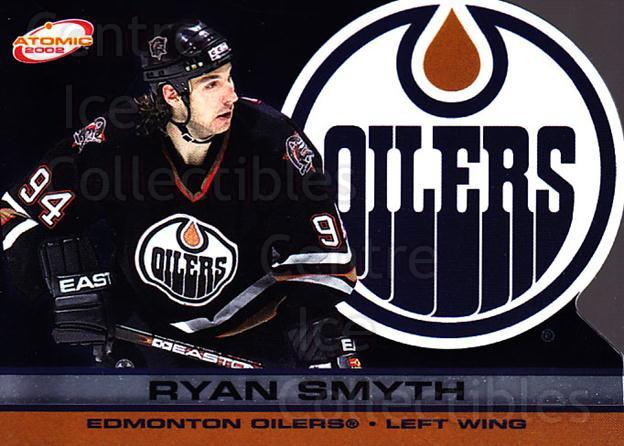 2001-02 Atomic #43 Ryan Smyth<br/>11 In Stock - $1.00 each - <a href=https://centericecollectibles.foxycart.com/cart?name=2001-02%20Atomic%20%2343%20Ryan%20Smyth...&quantity_max=11&price=$1.00&code=91815 class=foxycart> Buy it now! </a>