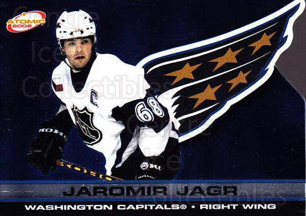 2001-02 Atomic #98 Jaromir Jagr<br/>6 In Stock - $2.00 each - <a href=https://centericecollectibles.foxycart.com/cart?name=2001-02%20Atomic%20%2398%20Jaromir%20Jagr...&quantity_max=6&price=$2.00&code=91871 class=foxycart> Buy it now! </a>