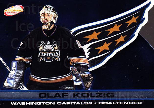 2001-02 Atomic #99 Olaf Kolzig<br/>8 In Stock - $1.00 each - <a href=https://centericecollectibles.foxycart.com/cart?name=2001-02%20Atomic%20%2399%20Olaf%20Kolzig...&quantity_max=8&price=$1.00&code=91872 class=foxycart> Buy it now! </a>