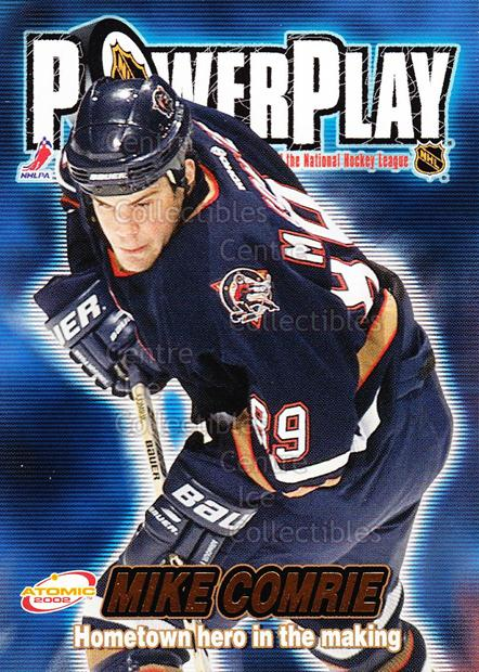 2001-02 Atomic Power Play #15 Mike Comrie<br/>13 In Stock - $1.00 each - <a href=https://centericecollectibles.foxycart.com/cart?name=2001-02%20Atomic%20Power%20Play%20%2315%20Mike%20Comrie...&quantity_max=13&price=$1.00&code=91886 class=foxycart> Buy it now! </a>