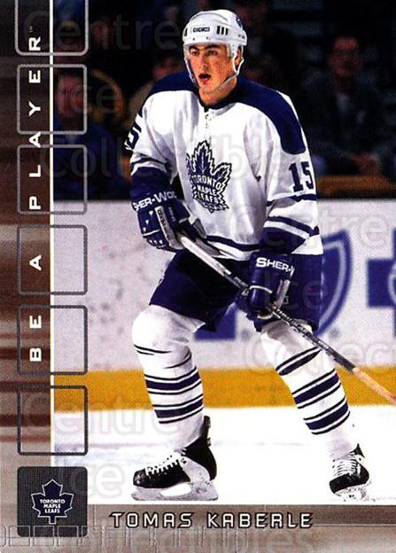 2001-02 BAP Memorabilia #105 Tomas Kaberle<br/>6 In Stock - $1.00 each - <a href=https://centericecollectibles.foxycart.com/cart?name=2001-02%20BAP%20Memorabilia%20%23105%20Tomas%20Kaberle...&quantity_max=6&price=$1.00&code=92237 class=foxycart> Buy it now! </a>